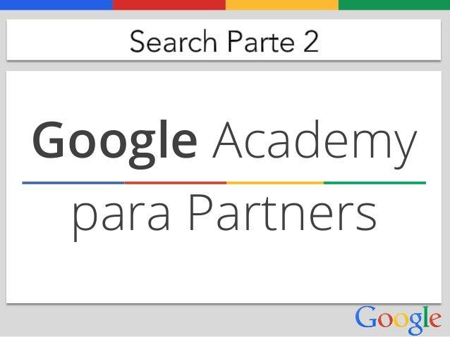 Google Academy para Partners