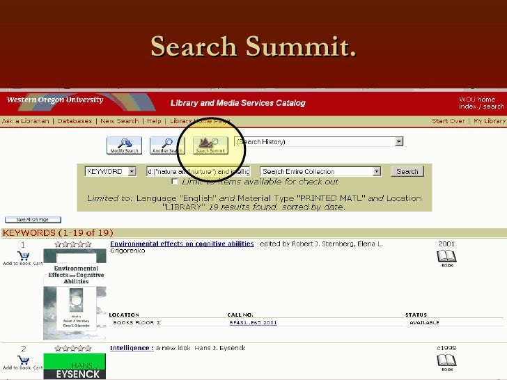 Search Summit.