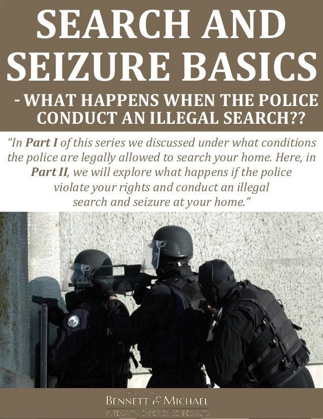 Search and Seizure Warrant