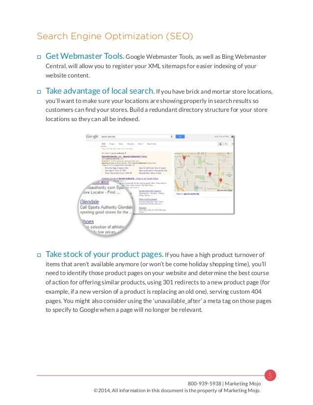 search and social media marketing checklist