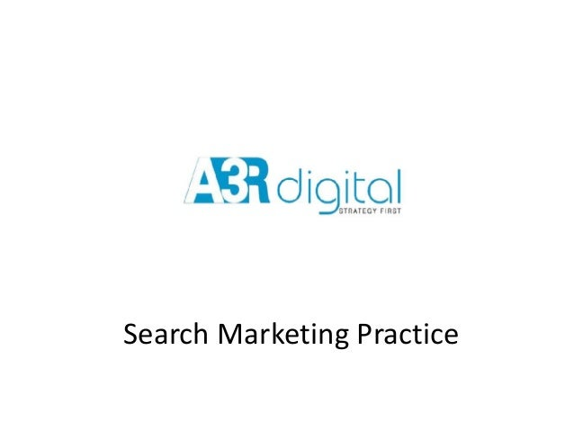 Search Marketing Practice