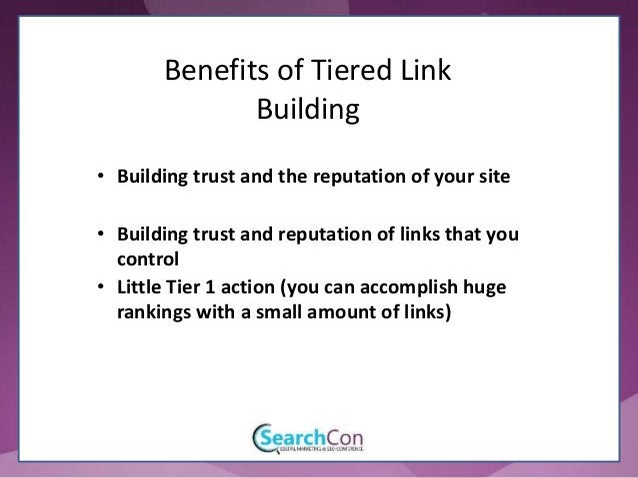 Benefits of Tiered Link Building