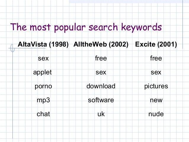 Search Enginebasics