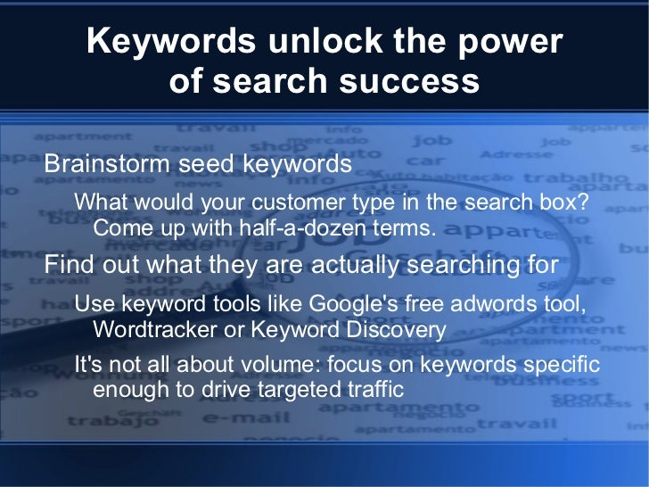 How Search Works <ul><li>Search engines earn money from advertising