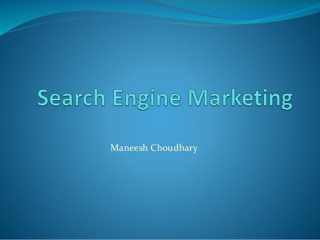 Maneesh Choudhary