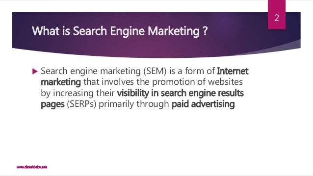 Search engine marketing - Wikipedia