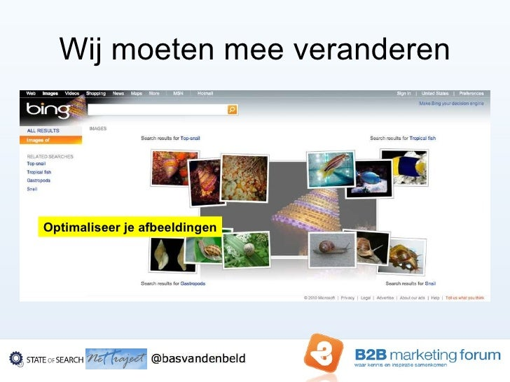 Search engine marketing in b2 b 2010 bas van den beld - Optimaliseer de studio ...