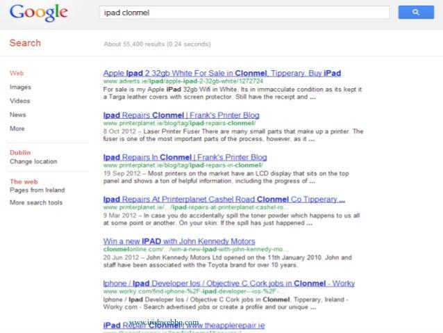 Search Engine Optimisation for Beginners Slide 3