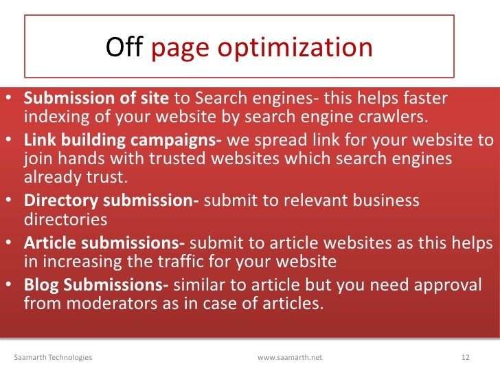 Search engine optimization- Why your website needs it? slideshare - 웹