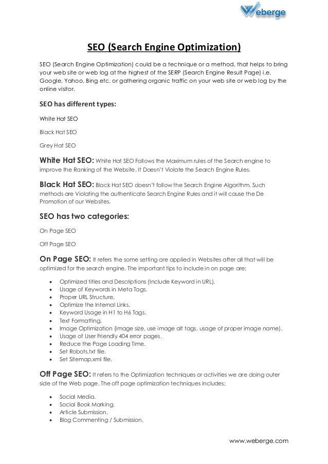 seo company india search engine optimization weberge