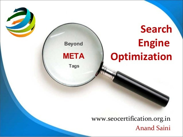 SearchBeyond              EngineMETA           Optimization Tags         www.seocertification.org.in                      ...