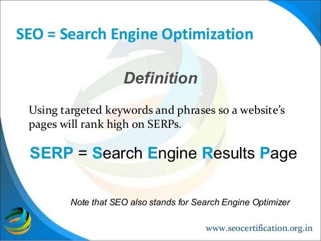 What is Search Engine Optimization (SEO)? - Definition ...