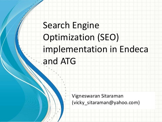 search engine optimization thesis Search engine land is the leading industry ppc & paid search marketing was used as an umbrella term to encompass both seo (search engine optimization.