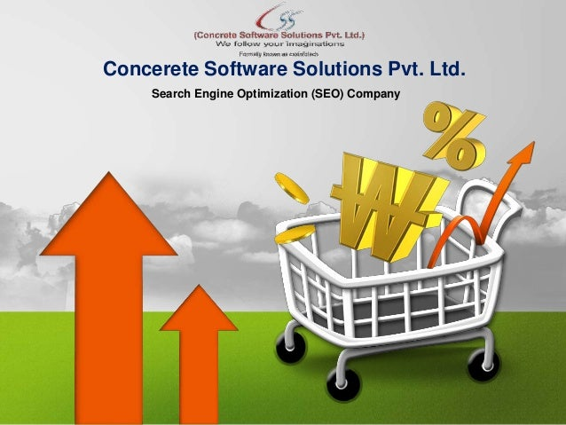 Search Engine Optimization (SEO) Company Concerete Software Solutions Pvt. Ltd.