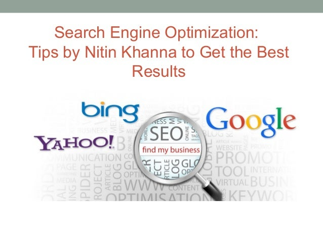 search engine optimization tips pdf