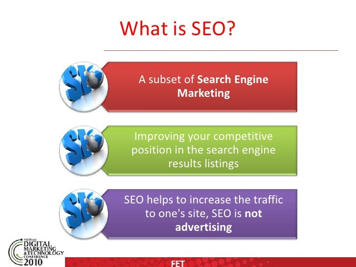 Search engine optimizatio (seo) fet slideshare - 웹