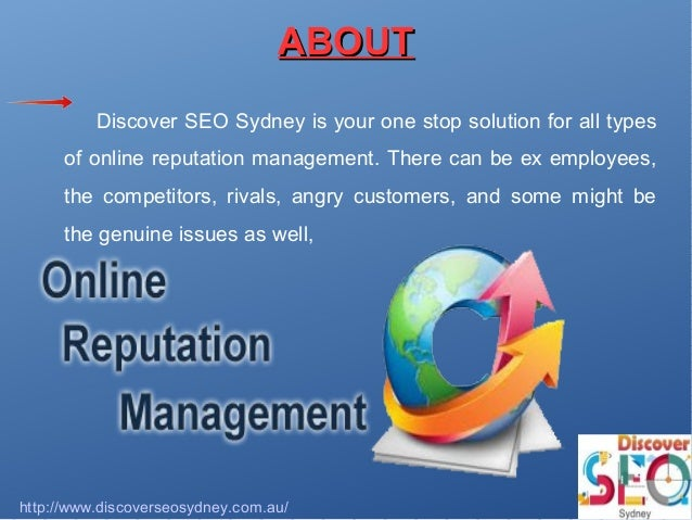 Search Engine Reputation Management Consulting - Digital ...