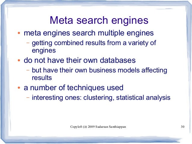 Meta Search Engines By Pao Lyn