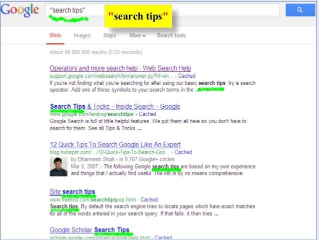 """สังเกตดูว่าที่ชื่อเรื่องของเว็บมีคาว่าintitle:""""search engines""""        search engines ทุกเว็บ"""