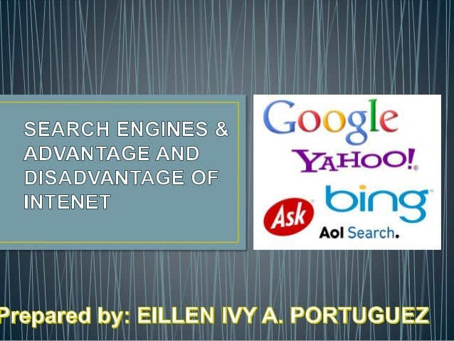 advantages of yahoo search engine