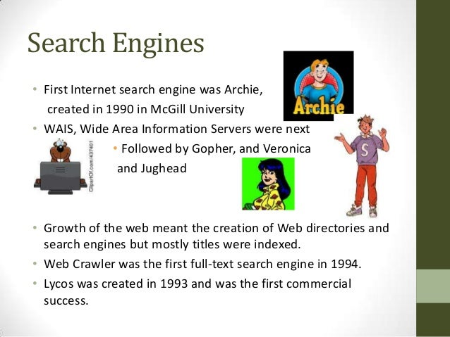 the basic internet searching Different types of search engines  for saving time by searching only in one place and sparing the need  see if something can be found using the internet.