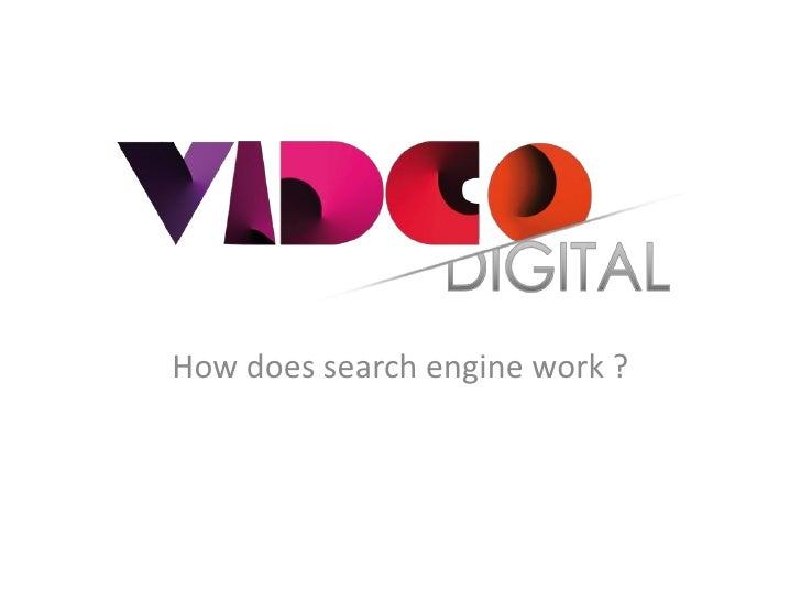 How does search engine work ?