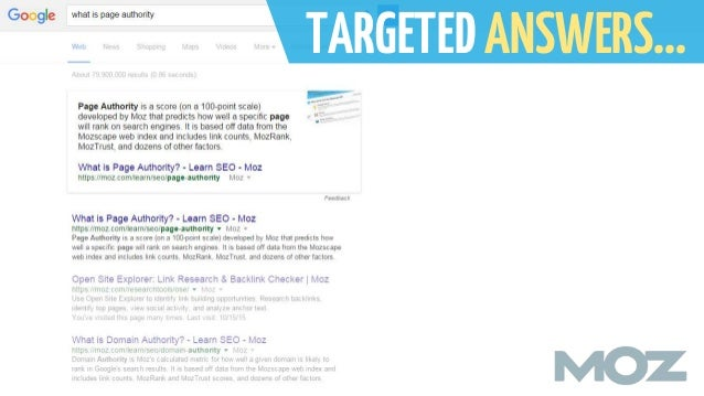 SEO for Answers: Ranking #0