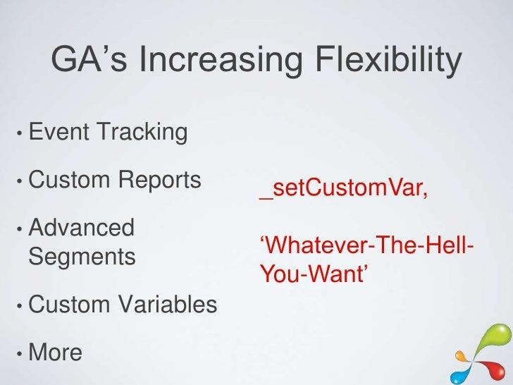 Advanced Google Analytics #SearchFest Slide 3