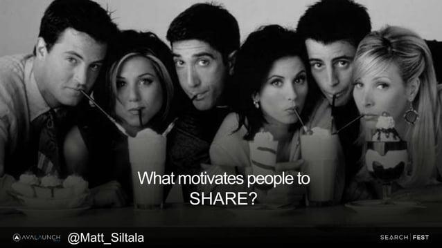 What motivates people to SHARE? @Matt_Siltala