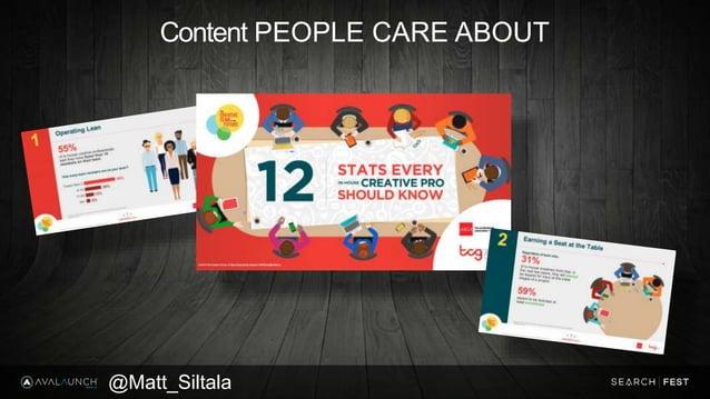 Content PEOPLE CARE ABOUT @Matt_Siltala