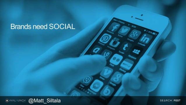 Brands need SOCIAL @Matt_Siltala