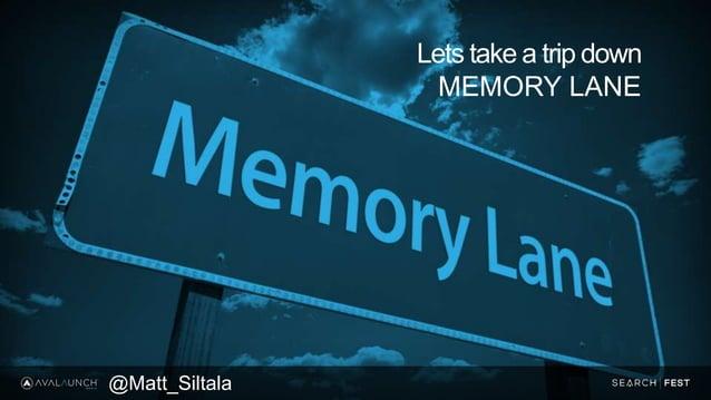 Lets take a trip down MEMORY LANE @Matt_Siltala