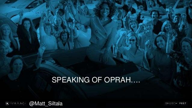 SPEAKING OF OPRAH…. @Matt_Siltala