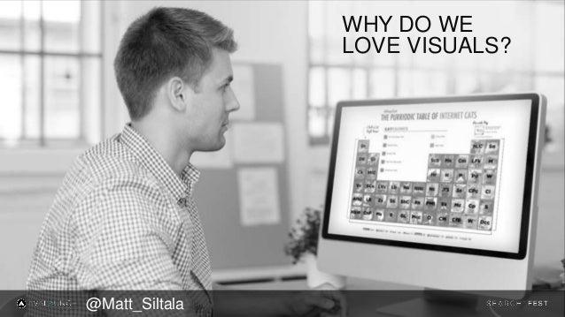 WHY DO WE LOVE VISUALS? @Matt_Siltala