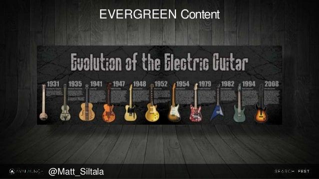 EVERGREEN Content @Matt_Siltala
