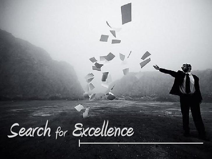 Search for Excellence