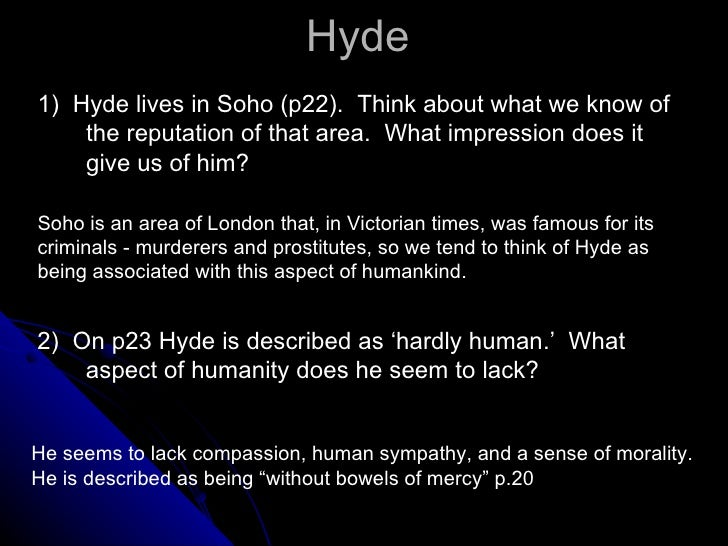 analysis of dr jekyll and mr hyde