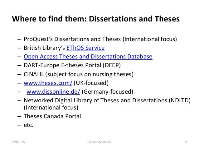 National Digital Library of Thesis and Dissertations in Taiwan