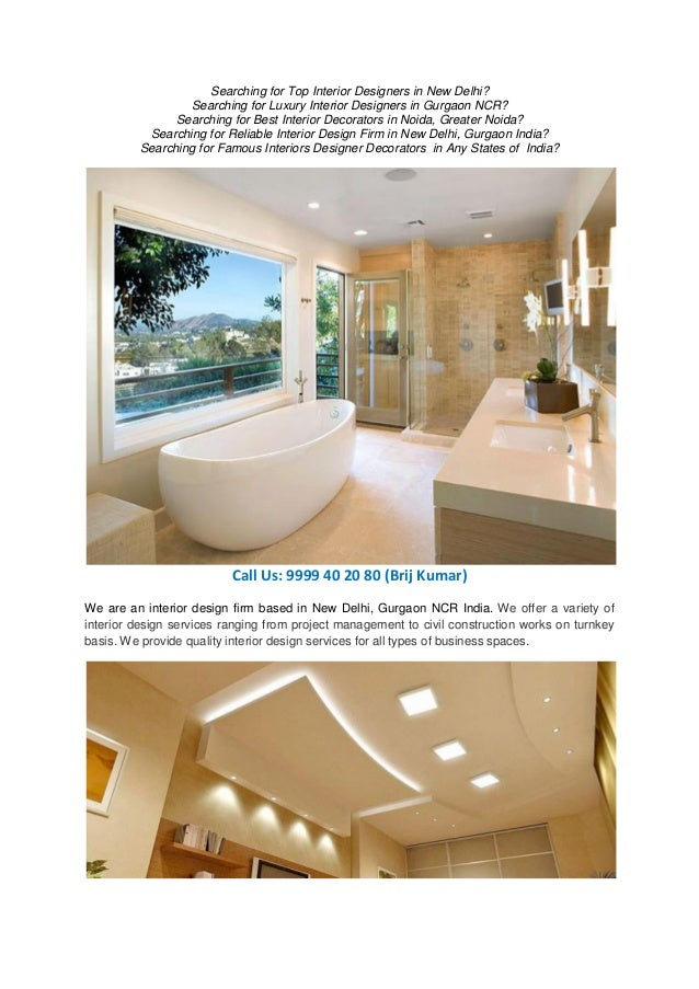 Searching Looking Wanted Required Luxury Top Class Interior Designer