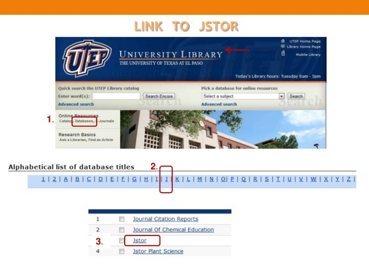 LINK TO JSTOR1.            2.     3.