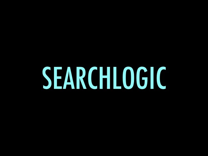 SEARCHLOGIC