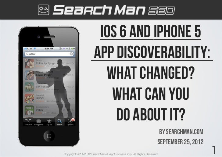 Ios 6 and iphone 5                     App discoverability:                       What changed?                        Wha...