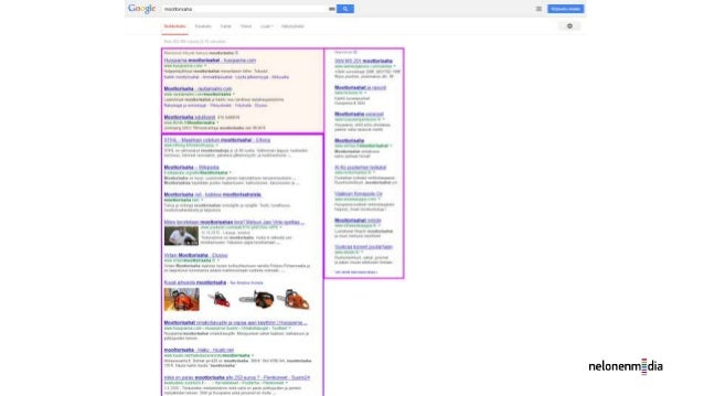 Google Adwords (paid search, CPC tai PPC advertising)  Adwordsin avulla voidaan hallita  Hakusanamainontaa  Display- el...