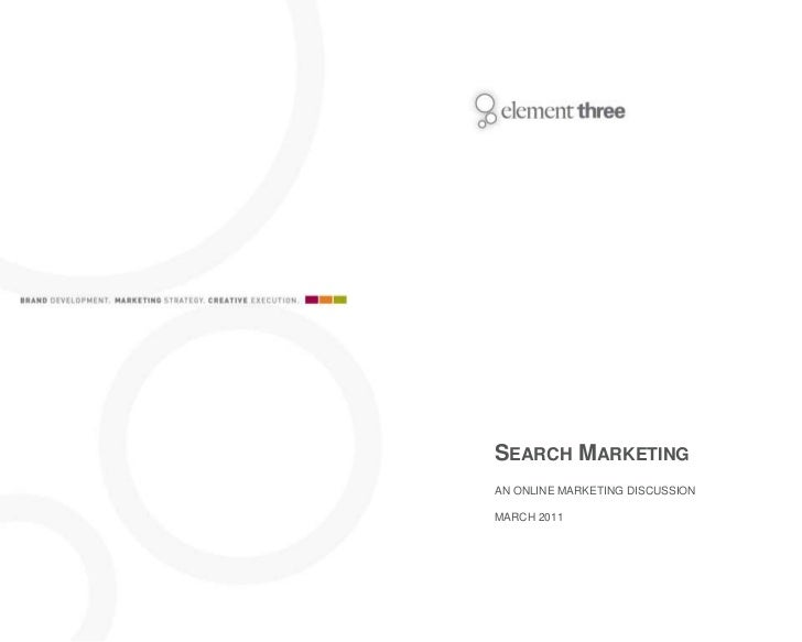 Search Marketing: Updated March 2011