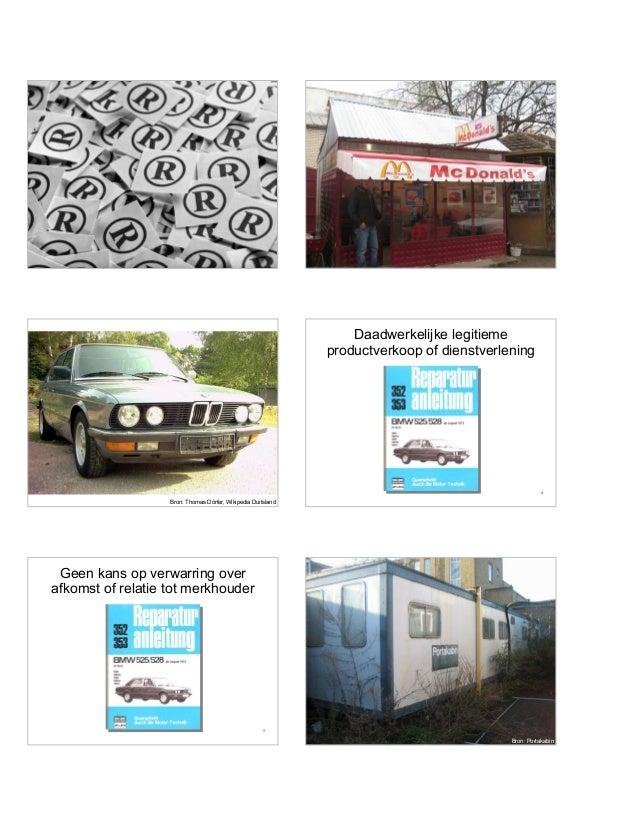 1 2 3 Bron: Thomas Dörfer, Wikipedia Duitsland 4 Daadwerkelijke legitieme productverkoop of dienstverlening 5 Geen kans op...