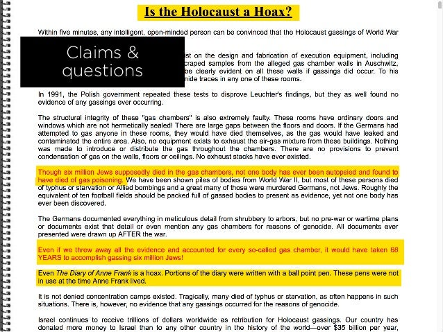 Claims & questions