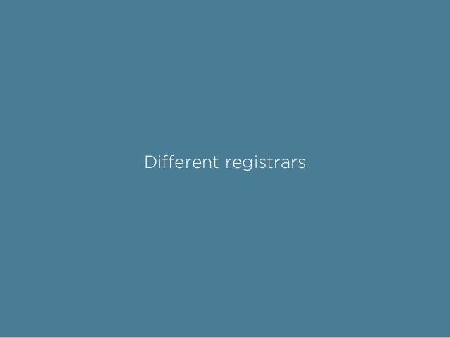 Different IDs