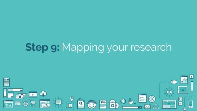 @seodanbrooks Step 9: Mapping your research