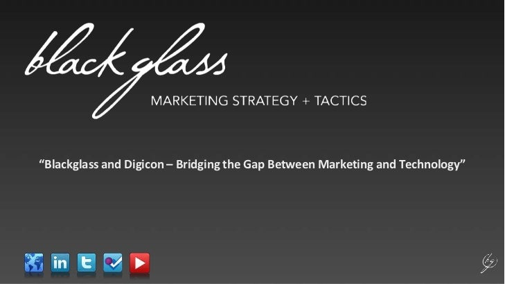 """Blackglass and Digicon – Bridging the Gap Between Marketing and Technology"" <br />"