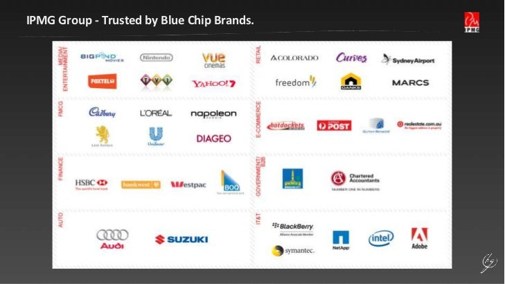IPMG Group - Trusted by Blue Chip Brands.<br />